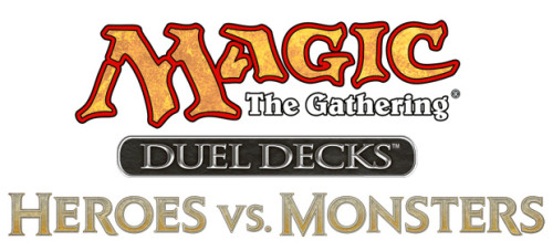 Magic the Gathering Duel Decks: Heroes vs. Monsters Logo