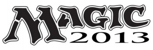 "Magic the Gathering Logo 2013 - Logo only reads ""Magic"" and the number 2013"