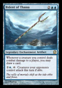 Magic the Gathering Theros Spoiler Card Image Karte Bident of Thassa