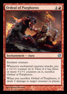 Magic the Gathering Theros Spoiler Card Image Karte Ordeal of Purphoros