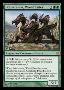 Magic the Gathering Theros Spoiler Card Image Karte Polukranos World Eater