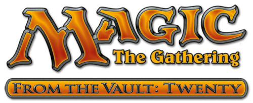 Magic the Gathering From the Vault: Twenty Logo