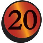 Magic the Gathering From the Vault Twenty Logo Symbol
