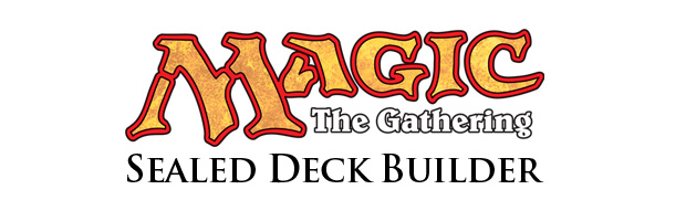 Magic the Gathering Sealed Deck Builder Logo