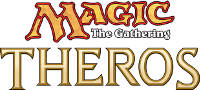 Magic the Gathering Theros Logo Small