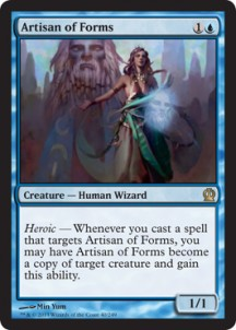 Magic the Gathering Theros Visual Spoiler Artisan-of-Forms