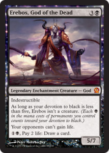 Magic the Gathering Theros Visual Spoiler Erbos God of the Dead