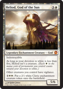 Magic the Gathering Theros Visual Spoiler Heliod God of the Sun