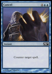 Magic the Gathering M10 Card Image Karte Cancel