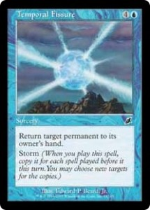 Magic the Gathering Scourge Temporal Fissure Card Image Karte