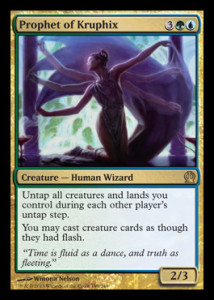 Magic the Gathering Theros Visual Spoiler Prophet of Kruphix