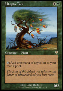 Magic the Gathering Invasion Utopia Tree