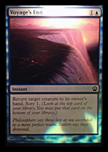 Magic the Gathering Theros Visual Spoiler Card Image Karte Voyages End