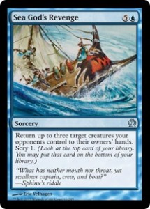 Magic the Gathering Grand Prix Theros Sealed Booster Draft Top Karte Card Image Oklahoma City Sea Gods Revenge