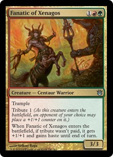 Born of the Gods Fanatic of Xenagos Fanatiker