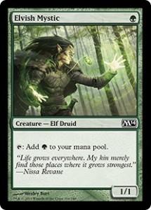 M14 Magic 2014 Elvish Mystic Elfen-Mystiker