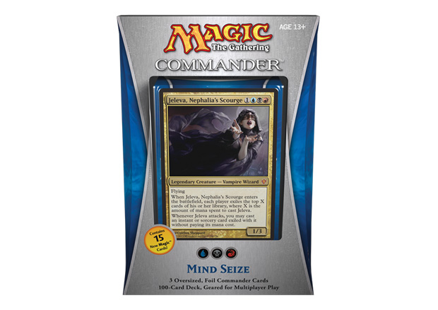 Magiclinks.de Commander 2013 EDH Spoiler Mindseize Deck Product Image