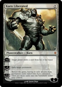 Magiclinks.de Grand Prix Antwerpen Modern Top 5 Card Karn Liberated
