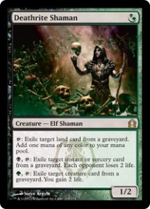 Magic the Gathering Grand Prix Brisbane Modern Top Card Deathrite Shaman