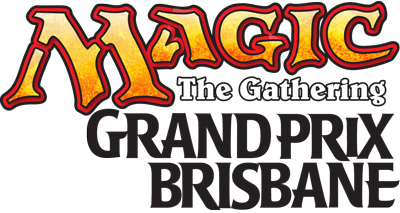 Magic the Gathering Grand Prix Modern Brisbane Logo