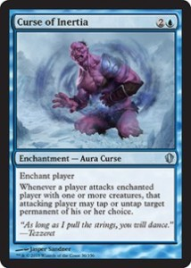 magiclinks.de Magic the Gathering Commander 2013 Spoiler Curse of Inertia