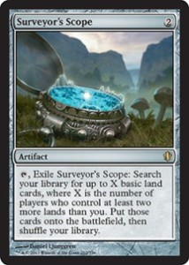 magiclinks.de Magic the Gathering Commander 2013 Spoiler Surveyors Scope