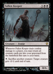 magiclinks.de Magic the Gathering Commander 2013 Spoiler Fallen Keeper