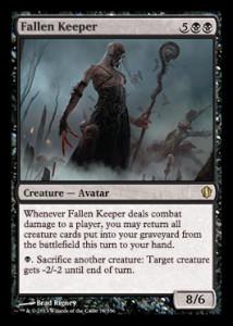 magiclinks.de Magic the Gathering Commander 2013 Spoiler Fallen Keeper