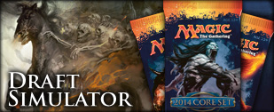 Magic the Gathering Magic 2014 M14 Draft Simulator