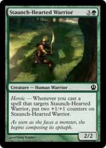 Magic-Grand-Prix-Kyoto-Team-Limited-Top-Card-Staunch-Hearted-Warrior