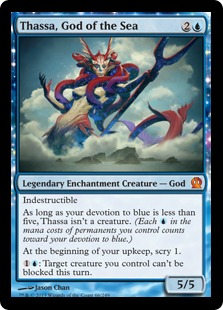 Magic the Gathering Grand Prix Standard Albuquerque Top Card Thassa God of the Sea