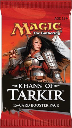 Magic the Gathering Khans of Tarkir Booster Geschenk Bild