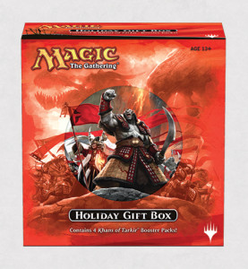 Magic the Gathering Khans of Tarkir Holiday Gift Box 2014