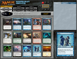 Magic the Gathering Magic 2014 M14 Draft Simulator Preview