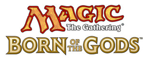 Magic the Gathering Born of the Gods Logo
