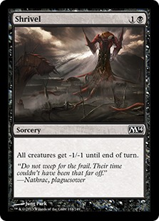 magic the gathering grand prix wien standard shrivel Card Image Bild