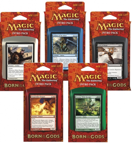 Born of the Gods Intro Packs Decklisten Decklists Deck