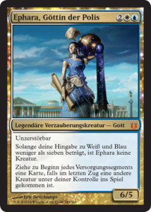 Born of the Gods Spoiler Ephara God of the Polis deutsch de