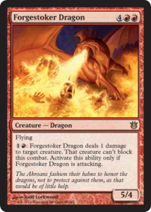 Born of the Gods Spoiler Forgestoker Dragon