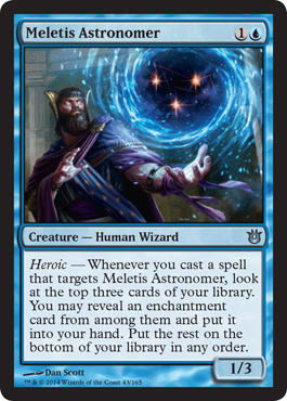 Born of the Gods Spoiler Meletis Astromancer Heroic