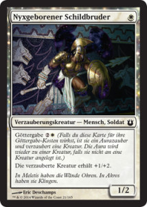 Born of the Gods Spoiler Nyxborn Shieldmate de deutsch