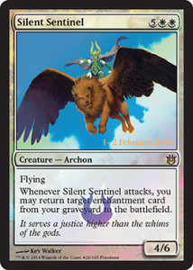 Born-of-the-Gods-Spoiler-PreRelease-Silent-Sentinel