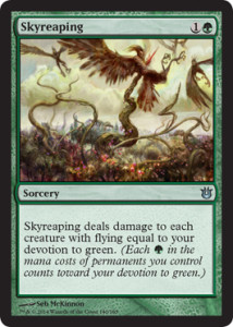Born of the Gods Spoiler Skyreaping