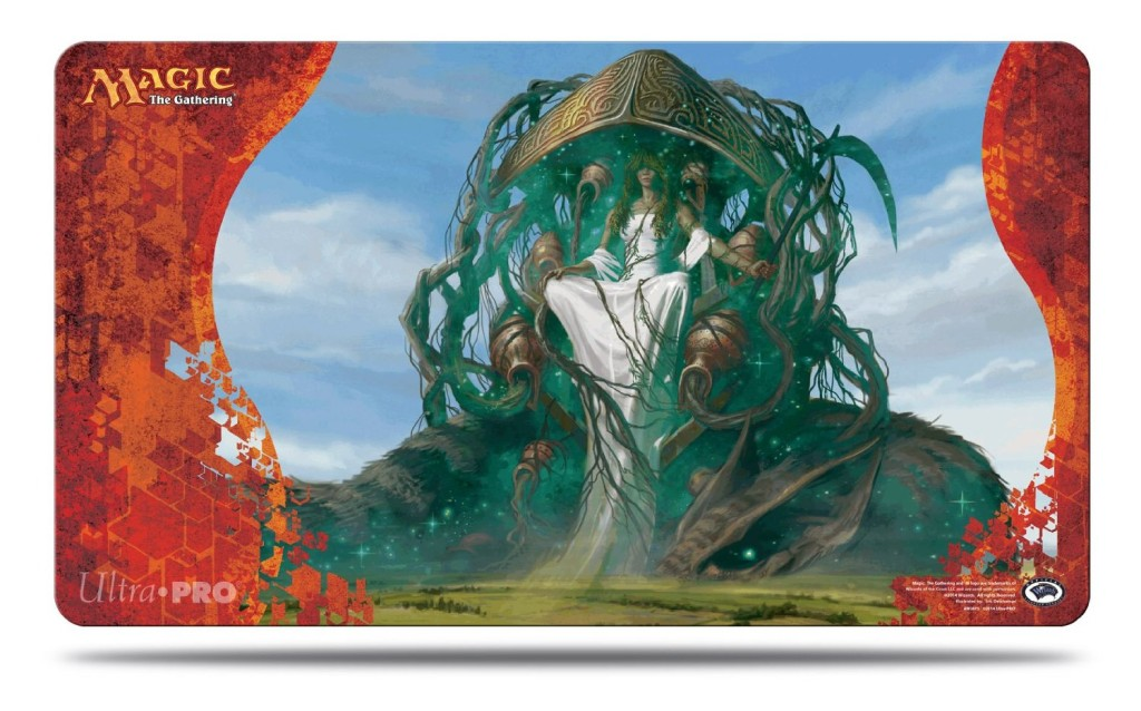 Magic Born of the Gods Playmat 2 Karametra God of Harvests