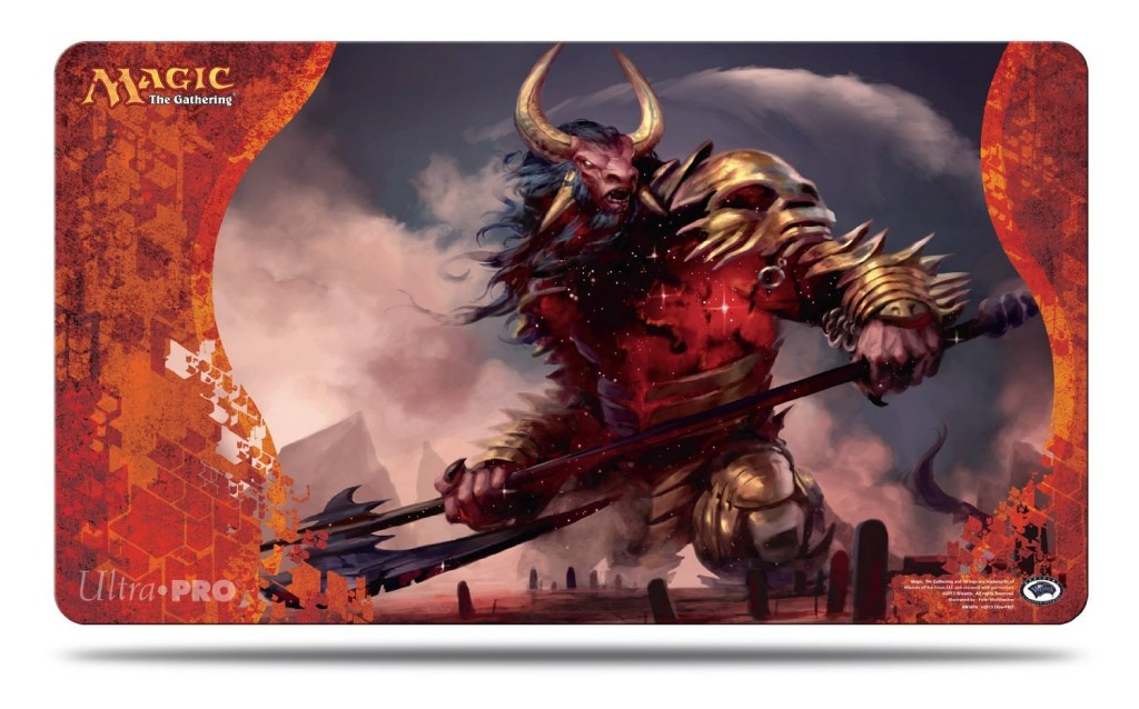 Magic Born of the Gods Playmat 3 Mogis God of Slaughter