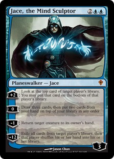 Magic the Gathering Jace the Mind Sculptor Worldwake