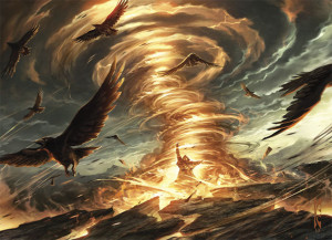 Magic the Gathering From the Vault Annihilation Artwork