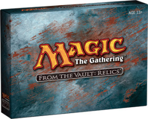 Magic the Gathering From the Vault Relics Box