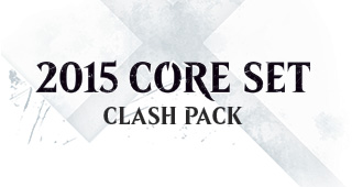 Magic 2015 Core Set Clash Pack Logo Deck