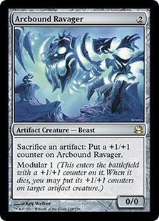 Magic the Gathering Card Image Arcbound Ravager Modern Masters